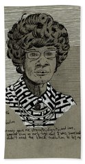 Shirley Chisholm Bath Towel
