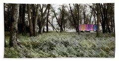 Shirts In A Floodplain Forest Hand Towel
