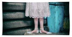 Shoes #6429 Bath Towel