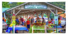 Shop Local Hand Towel by Dale R Carlson