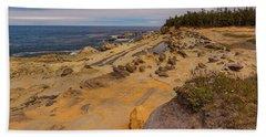 Shore Acres, Oregon Coast Hand Towel