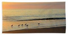 Shorebirds 9/4/17 Bath Towel