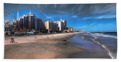 Hand Towel featuring the photograph Shoreline by Jim Hill