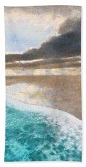 Shoreline Painted Bath Towel