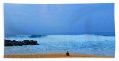 Shores Of Oahu Bath Towel