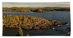 Shores Of Pukaskwa Hand Towel