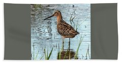 Short-billed Dowitcher Hand Towel