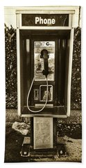 Short Stack Pay Phone Hand Towel