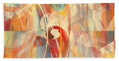 Bath Towel featuring the digital art Shower Curtain No 1 by Robert G Kernodle