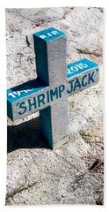 Bath Towel featuring the photograph Shrimp Jack by Lawrence Burry