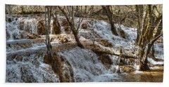 Shuzheng Waterfall China Bath Towel