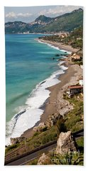 Sicilian Sea Sound Bath Towel