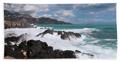 Sicilian Stormy Sound Bath Towel