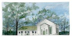 Sicklerville 1859 Church  Hand Towel
