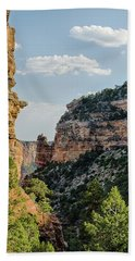 Side Canyon View Hand Towel