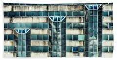 Side Of The Building  Hand Towel by Christy Ricafrente