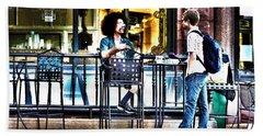 048 - Sidewalk Cafe Hand Towel