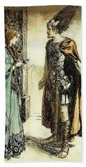Siegfried Meets Gutrune Hand Towel