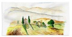 Siena. Italy Hand Towel