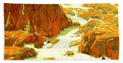 Sierra Landscape Circa 1920 Bath Towel