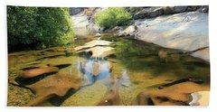 Sierra Liquid Gold Bath Towel by Sean Sarsfield
