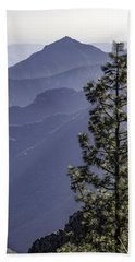 Hand Towel featuring the photograph Sierra Nevada Foothills by Steven Sparks