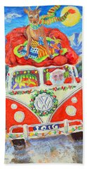 Sierra Santa Bath Towel by Li Newton