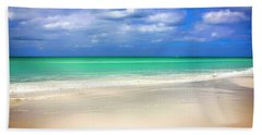 Siesta Key Beach Florida  Hand Towel by Chris Smith