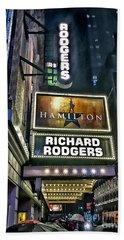 Sights In New York City - Hamilton Marquis Hand Towel