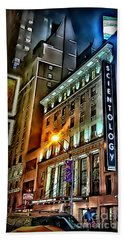 Hand Towel featuring the photograph Sights In New York City - Scientology by Walt Foegelle