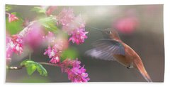 Sign Of Spring 2 Hand Towel by Randy Hall
