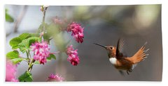 Sign Of Spring 3 Hand Towel by Randy Hall
