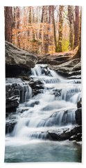 Autumn At Moss Rock Preserve Hand Towel by Parker Cunningham