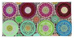 Silberzweig - Karma Mandela - Celadon Rose - Bath Towel