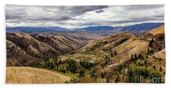 Silence Of Whitebird Canyon Idaho Journey Landscape Photography By Kaylyn Franks  Hand Towel