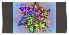 Silent Beauty Hand Towel