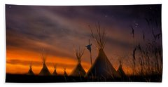 Silent Teepees Hand Towel