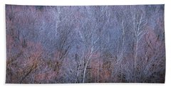 Hand Towel featuring the photograph Silent Trees by Allin Sorenson