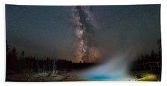 Silex Spring Milky Way  Bath Towel
