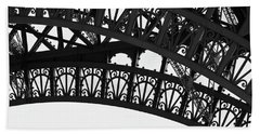 Silhouette - Paris, France Hand Towel