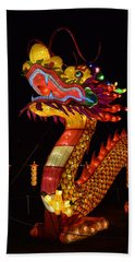 Silk Dragon Hand Towel