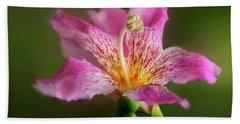 Silk Floss Flower Bath Towel