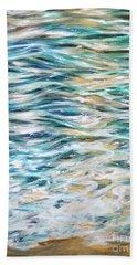 Silken Bath Towel by Linda Olsen