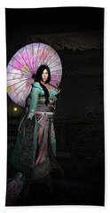 Silks And Parasols 2 Bath Towel