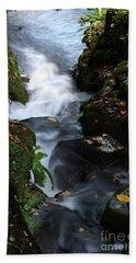 Silky Falls Hand Towel by Stephen Melia