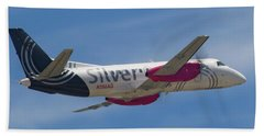 Silver Airways Bath Towel