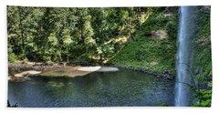 Silver Falls South Falls  Bath Towel