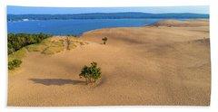Silver Lake Dunes Hand Towel