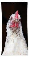 Silver Phoenix Chicken Bath Towel