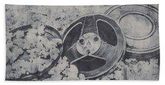 Silver Screen Film Noir Hand Towel